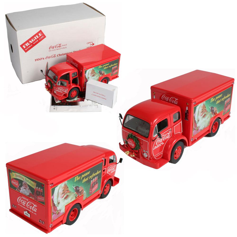 Danbury Mint-1950s Coca Cola Christmas Truck