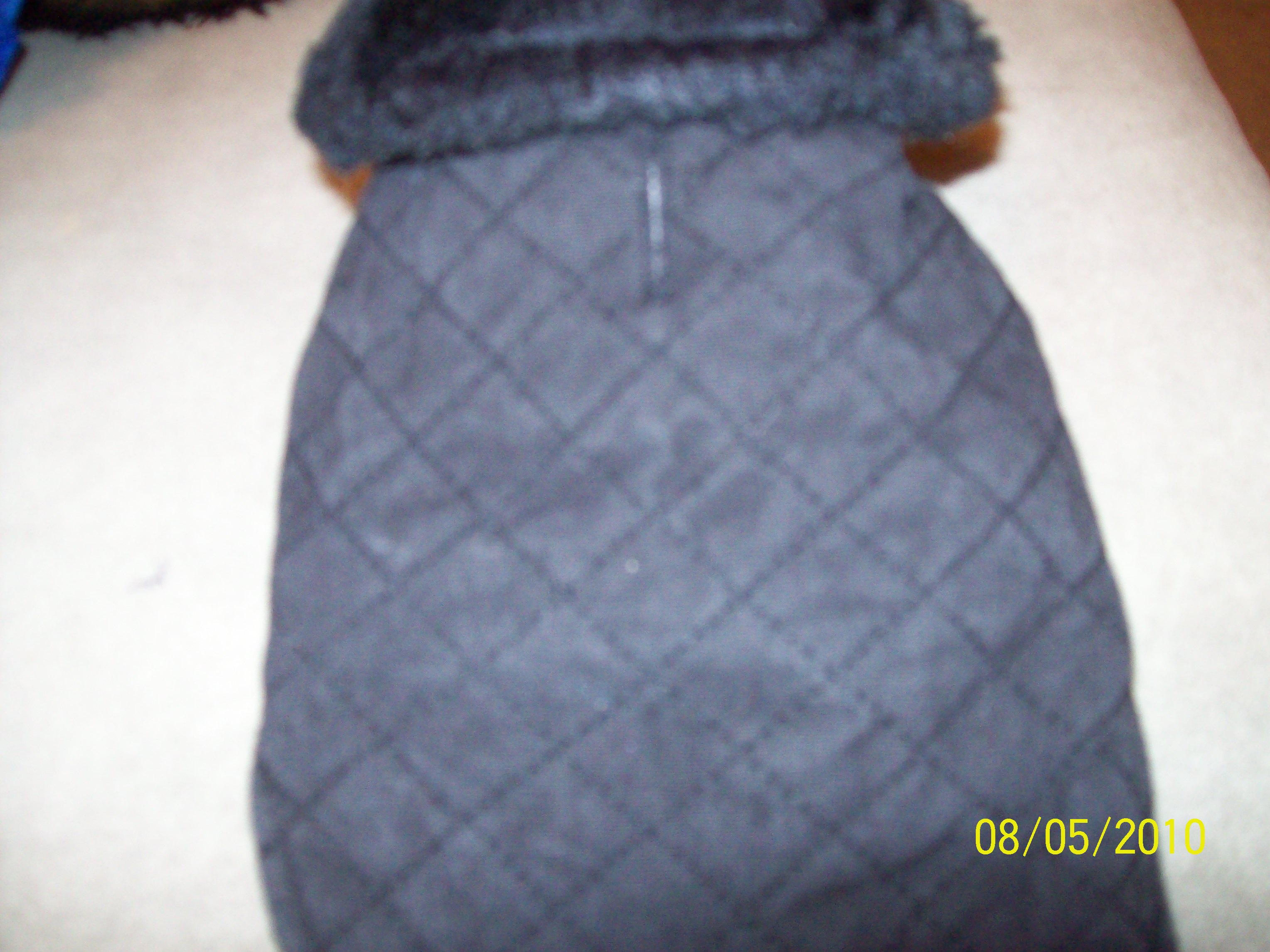 dog winter coat size xs