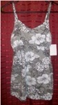 Hawaiin Floral Hibiscus Baby-Doll Tank, small, NEW!