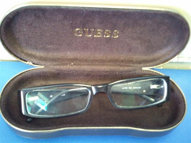 "Name Brand ""GUESS\"" reading glasses with Case"