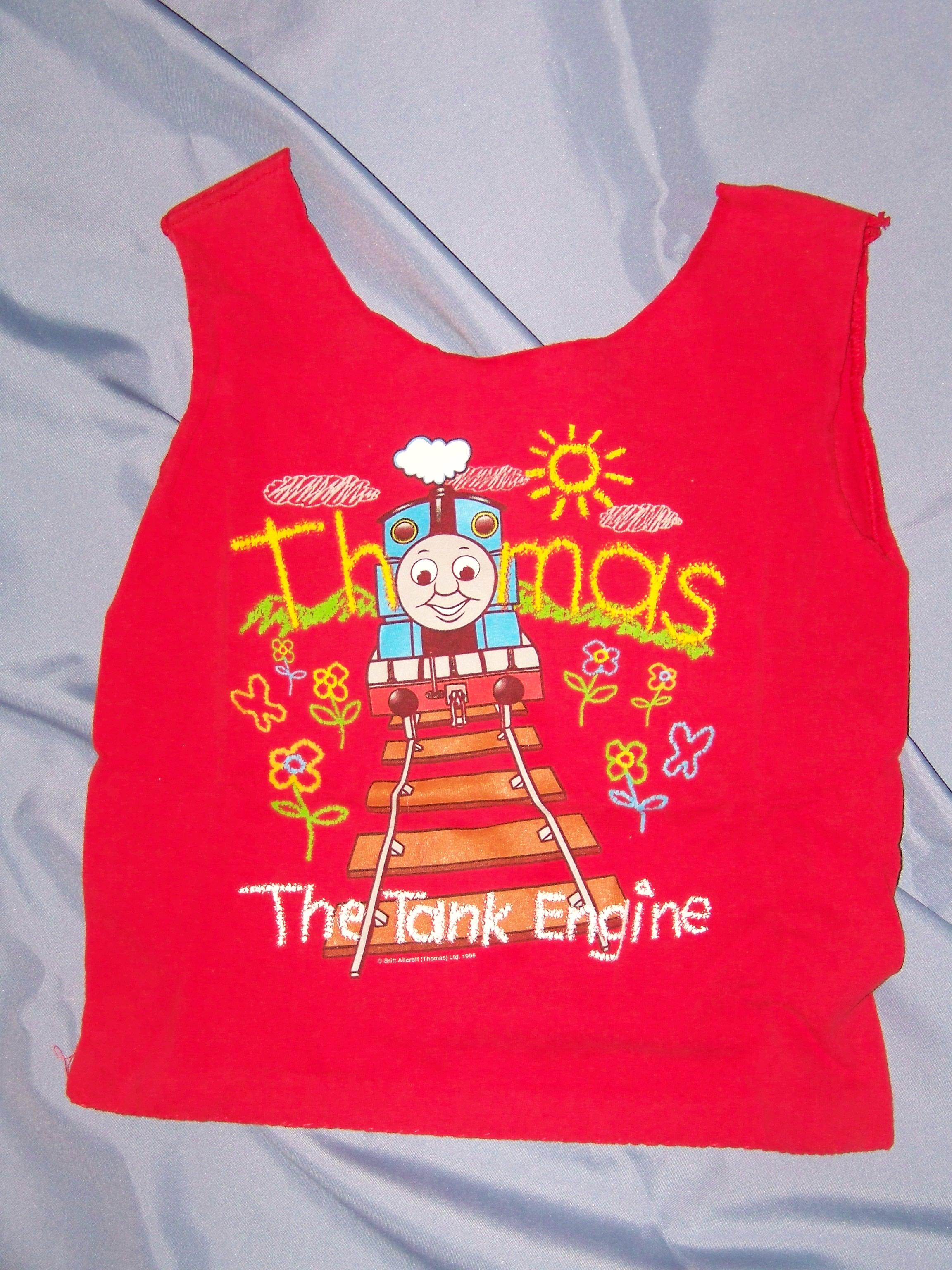 Tshirt tote 100-4145 Thomas tank red