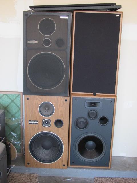 Pioneer and JVC Speakers
