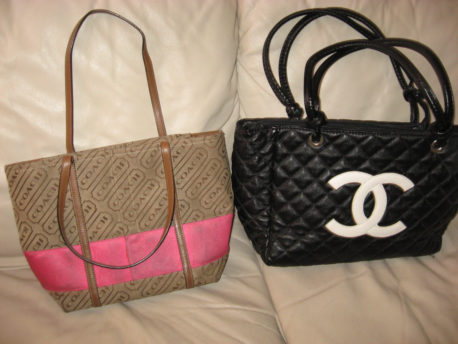 Coach Chanel Aldo Purses Fake