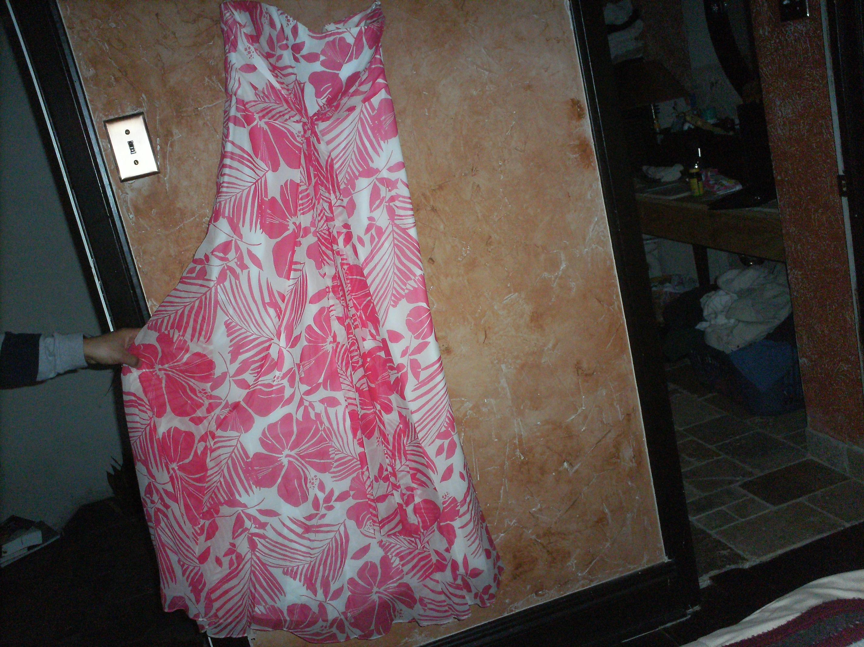 PINK DRESS BEAUTIFUL