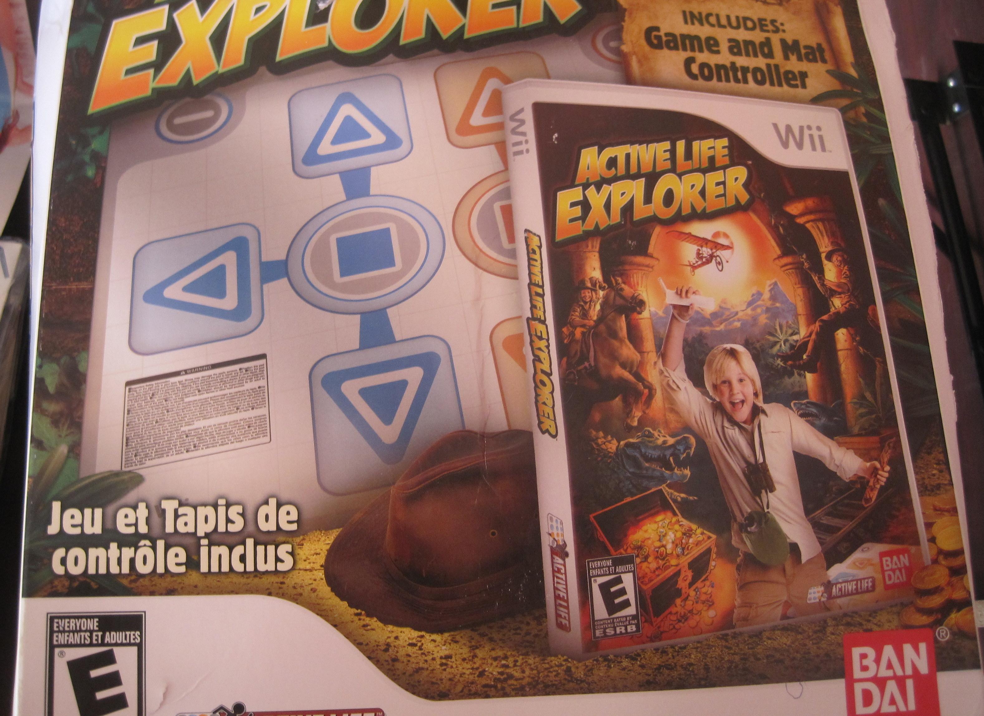 Wii Active Explorer