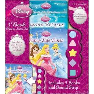 Princess 3 book Play-a-sound Book