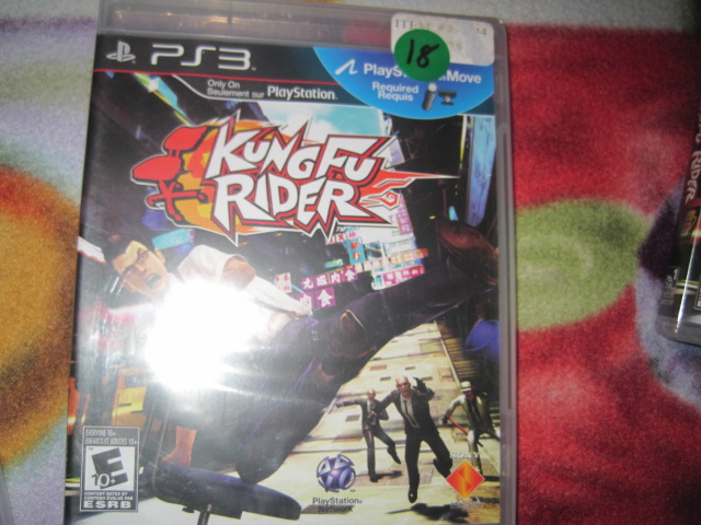 PS3 Game Kungfu Rider