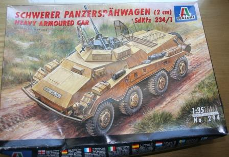 Armored Car Model Kit