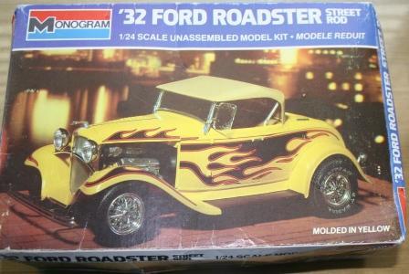 1932 Roadster Model Kit