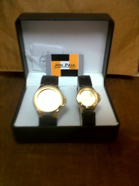 Mens & Womans matching wrist Watch Set