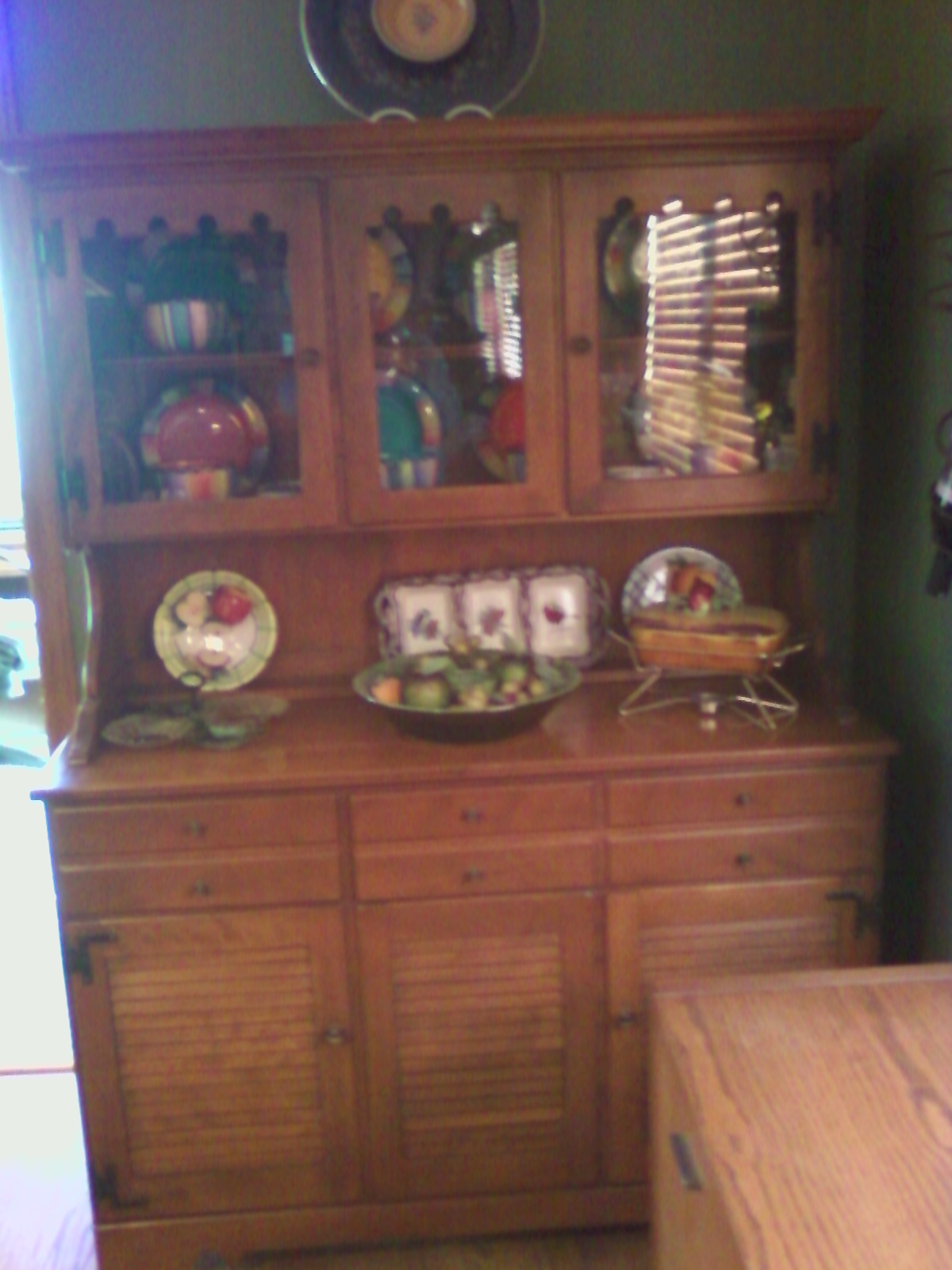 Ethan Allen China Hutch & Buffet