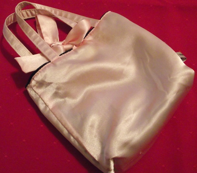 Shiny/Silky Pink Small Bag