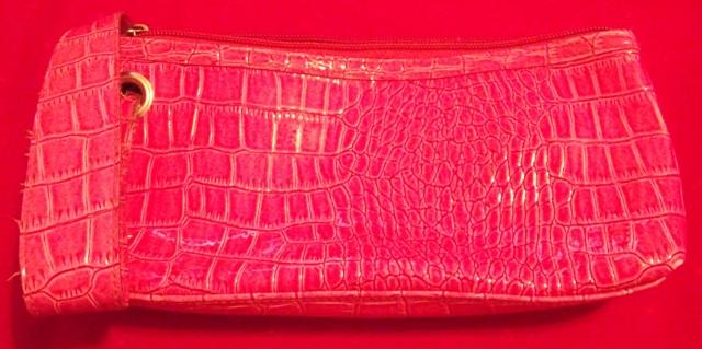 Pink Makeup or Pencil Bag
