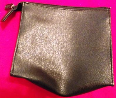 Black Zippered Bag