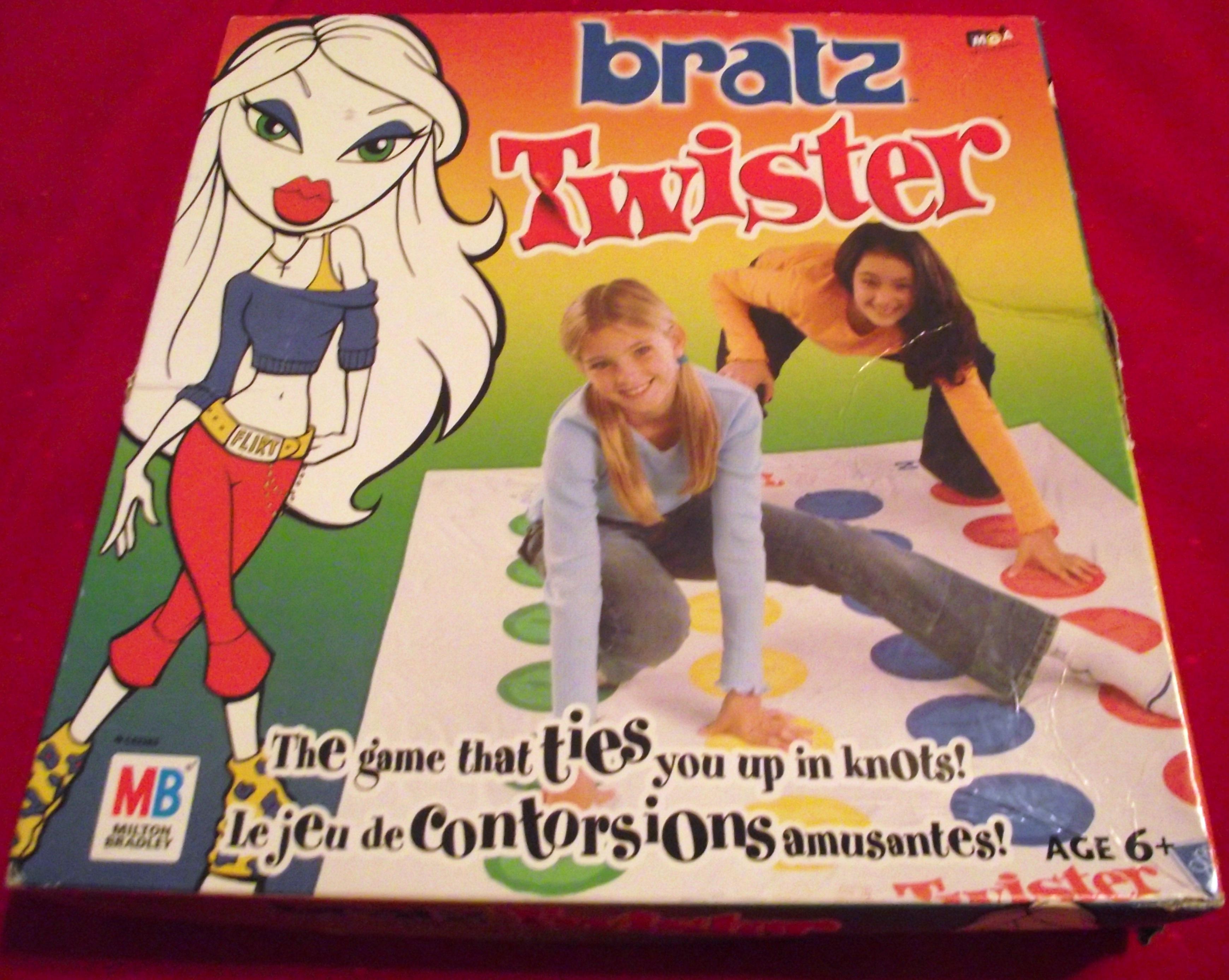 Bratz Twister Board Game