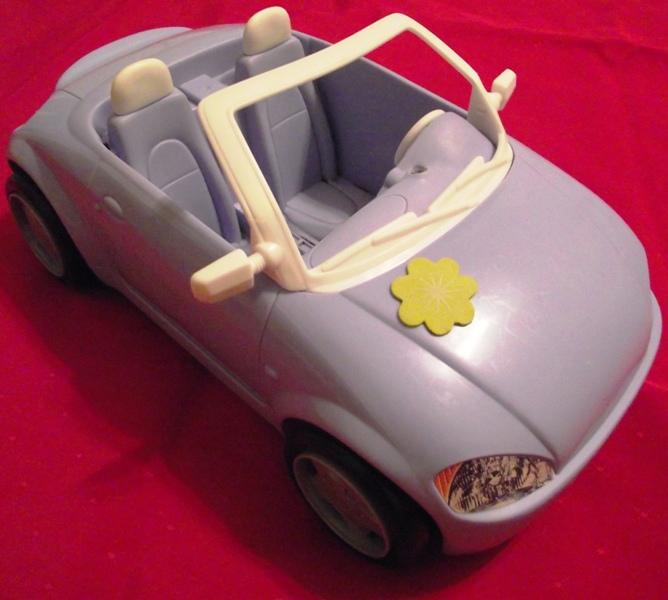 Barbie Purple Convertible Car