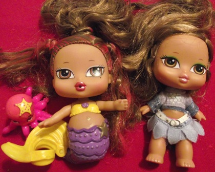 Set of 2 - Baby Bratz Dolls