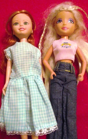 Set of 2 Miscellaneous Dolls