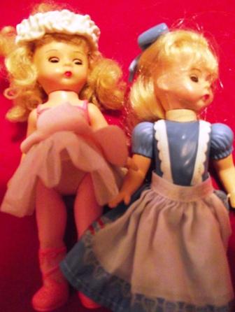 Set of 2 Small Dolls
