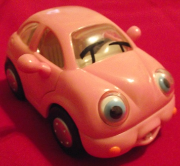 Chevron Techron Pink Car