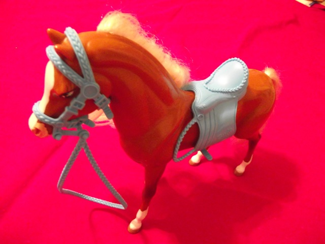 Barbie Horse with Saddle & Reigns