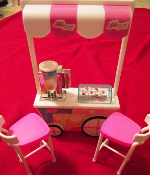 Barbie Dessert Cart Set