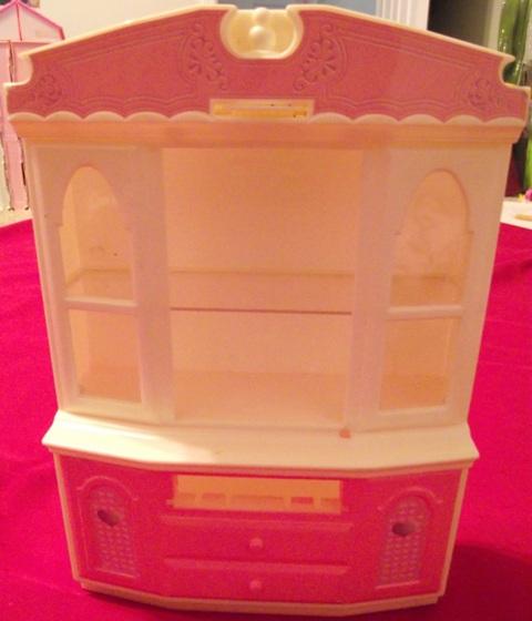 Barbie China Cabinet