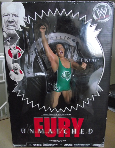 WWE Unmatched Fury - Finlay Action Figure