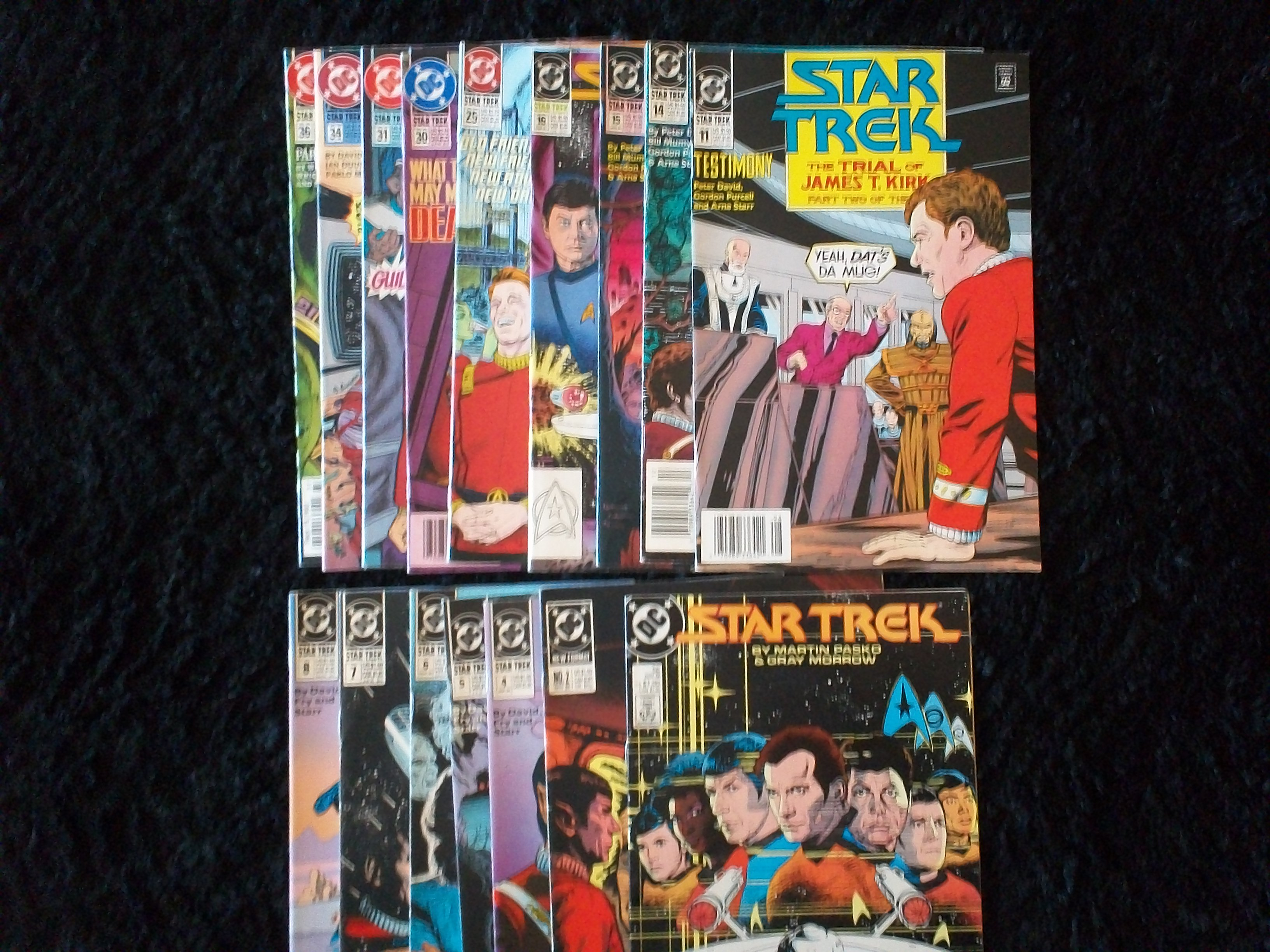 Collectible Star Trek Comic Books