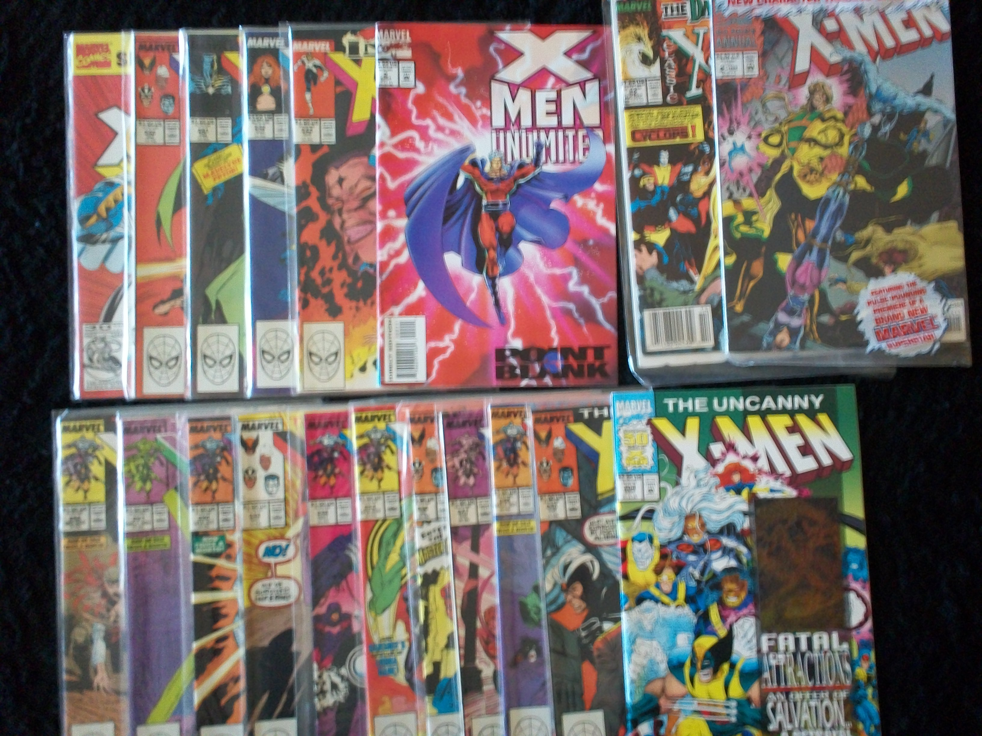 X-Men Collectible Comic Books/INFERNO X-MEN/THE UNCANNY X-MEN