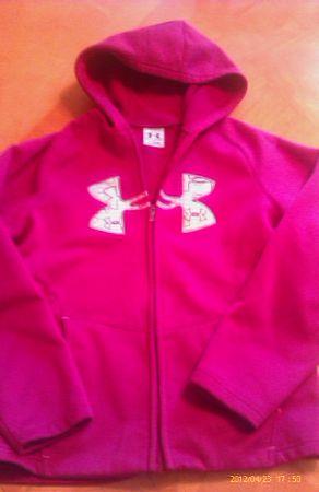 Girls Youth Under Armour Hoodie sweatshirt