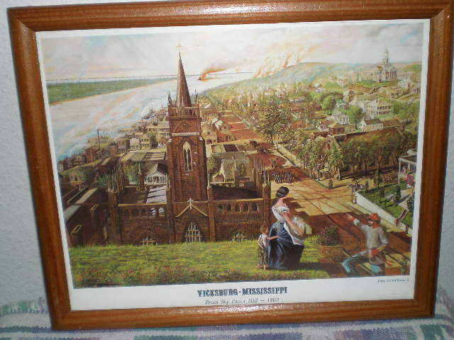 From Sky Parlor Hill 1863-Vicksburg Mississippi