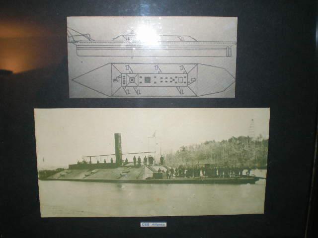 Clipping of The CSS Atlanta 1862