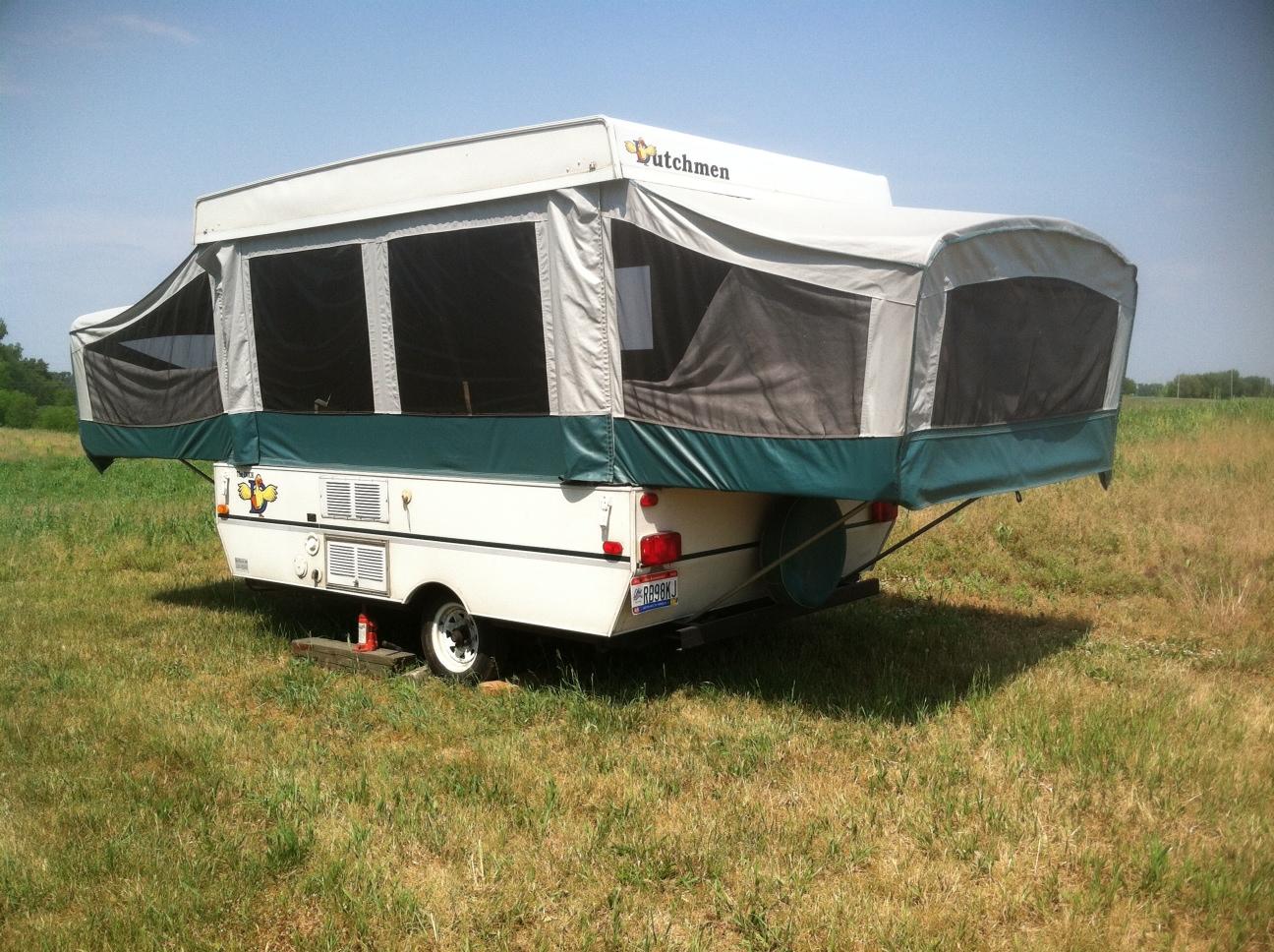 how to set up a dutchman pop up camper