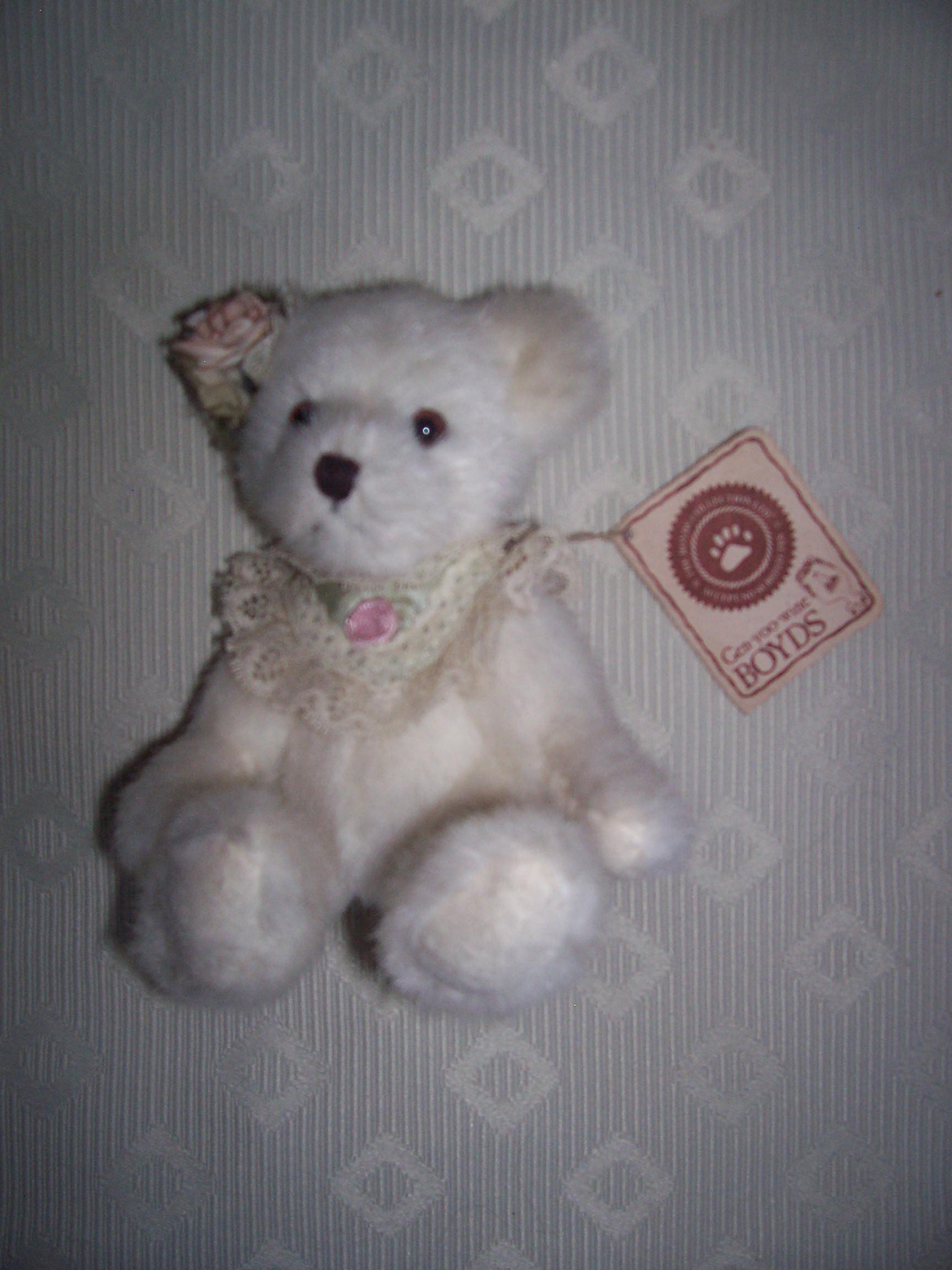 Boyds Bears Small White Bear