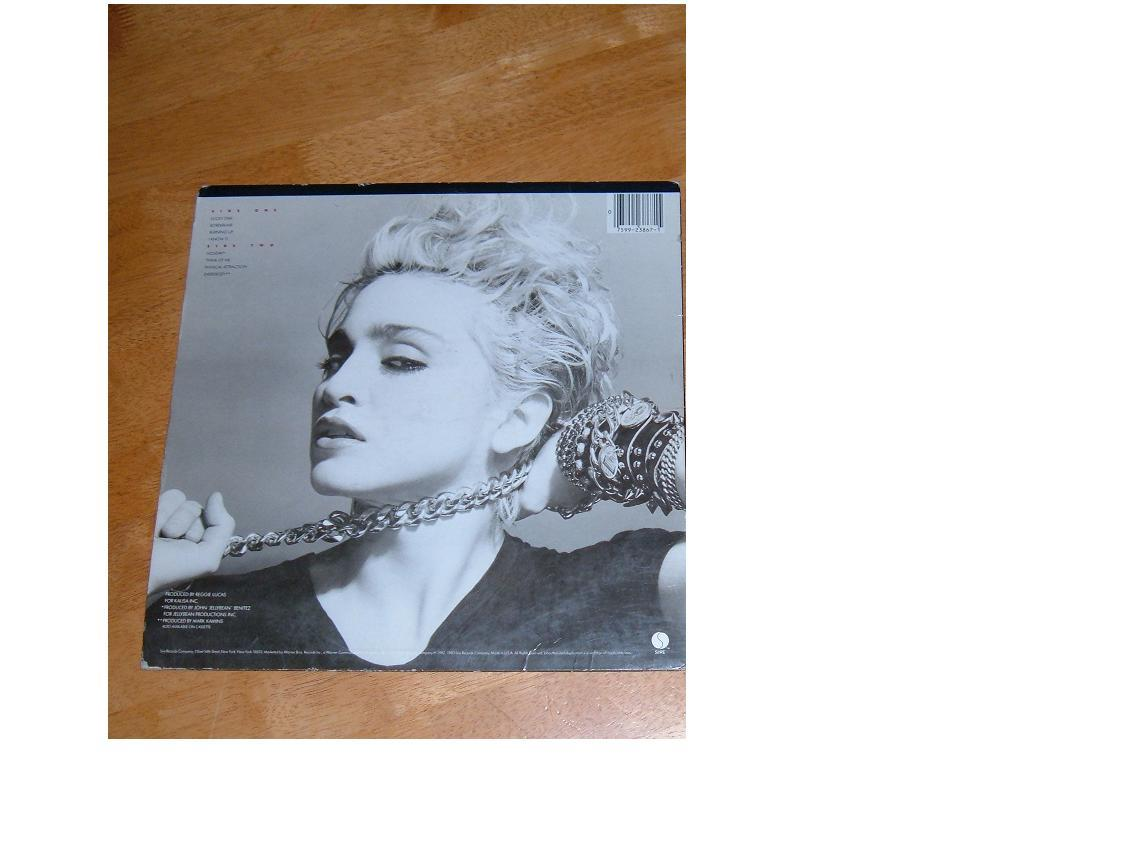 Madonna 12in vinyl lp classic in ashley and chris for Classic house vinyl sale