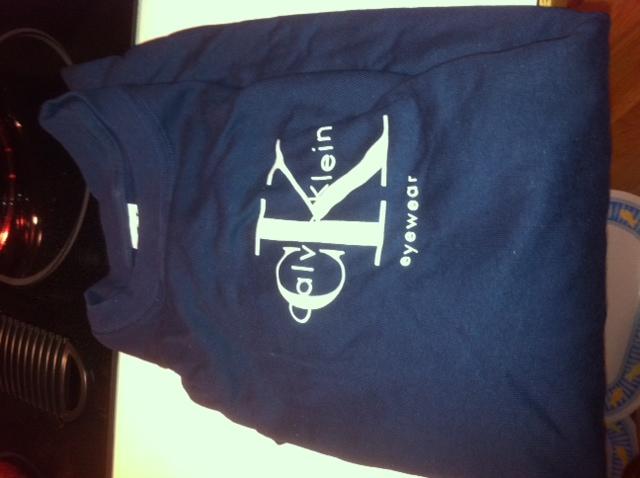 Calvin Kline tee shirt (4) size Large womans