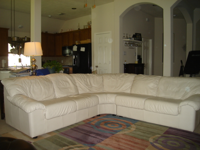 Leather Sectional Couch In Teresia 39 S Garage Sale Richmond Tx