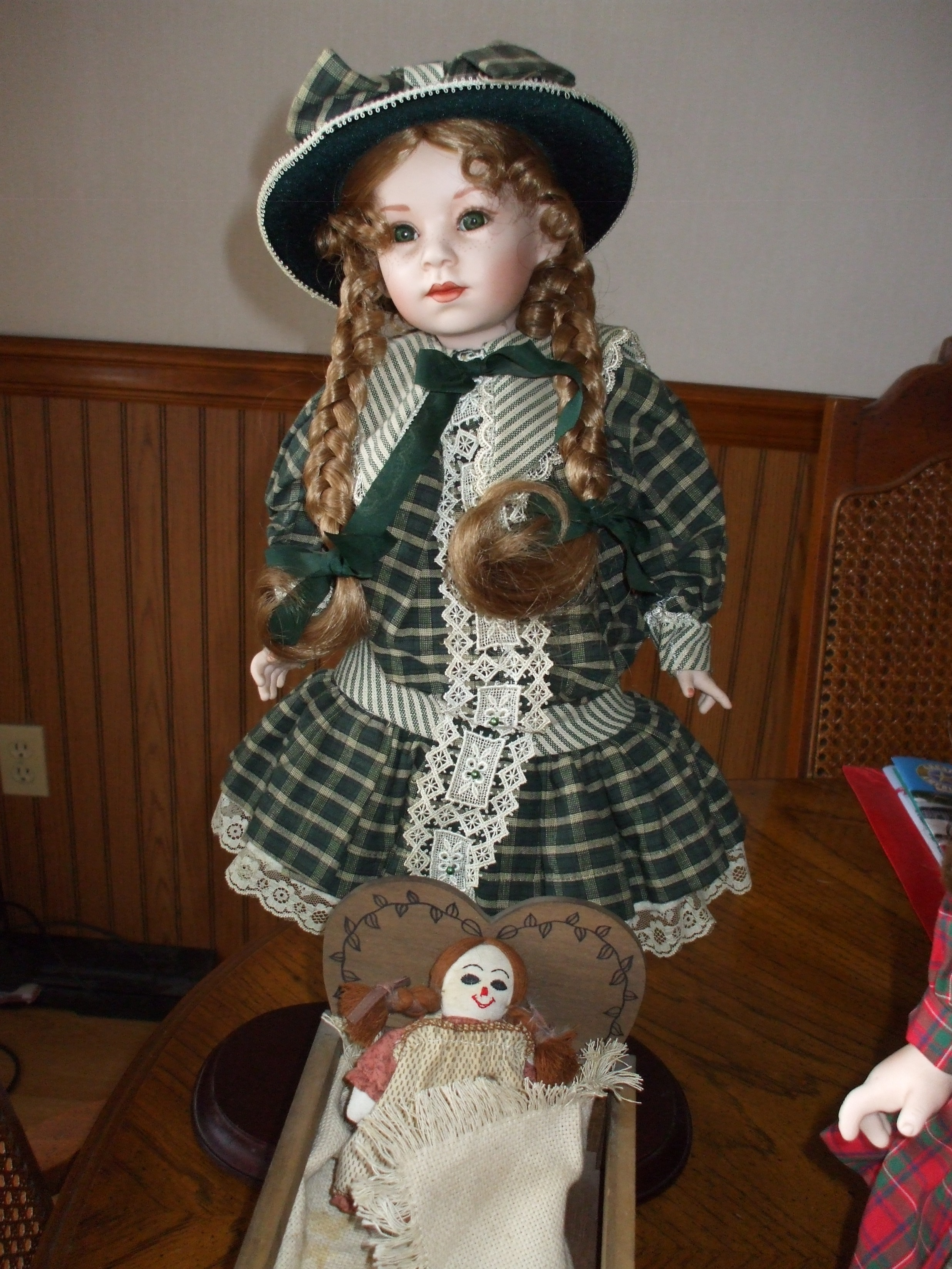 coca cola collector doll