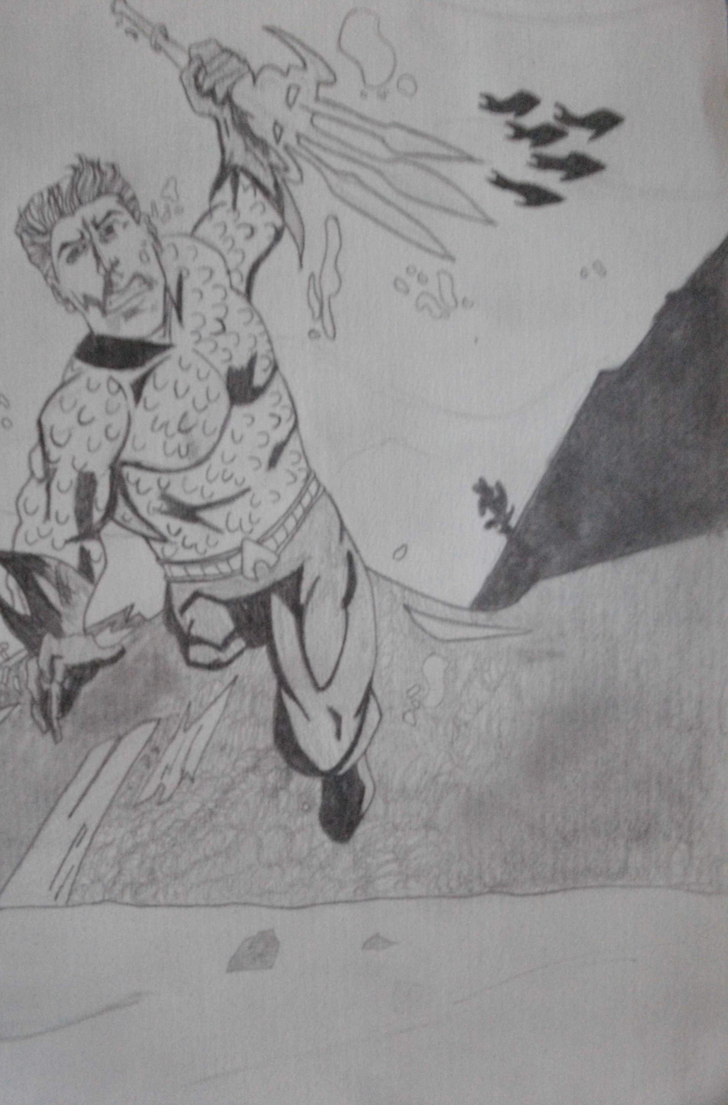 Comic Art of Auquaman