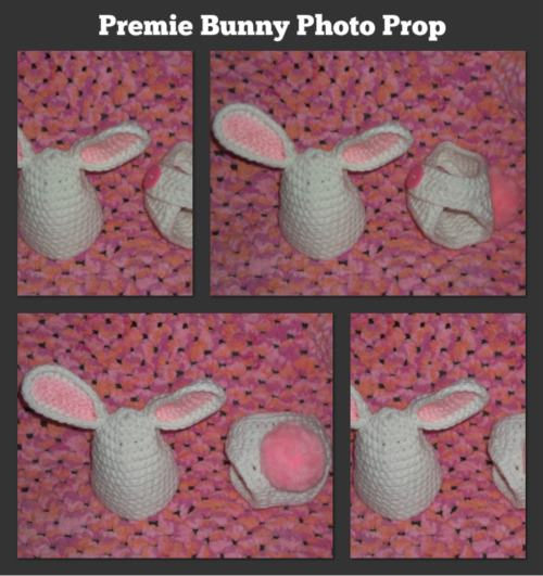 Preemie Bunny Photo Prop
