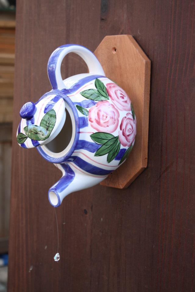 Tea Pot Bird house