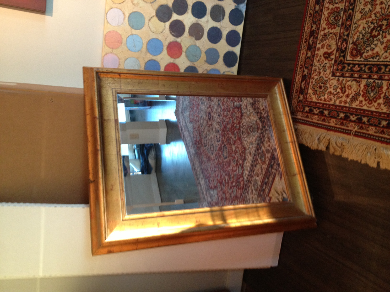 Pottery Barn Mirror In Darryl S Garage Sale Atlanta Ga