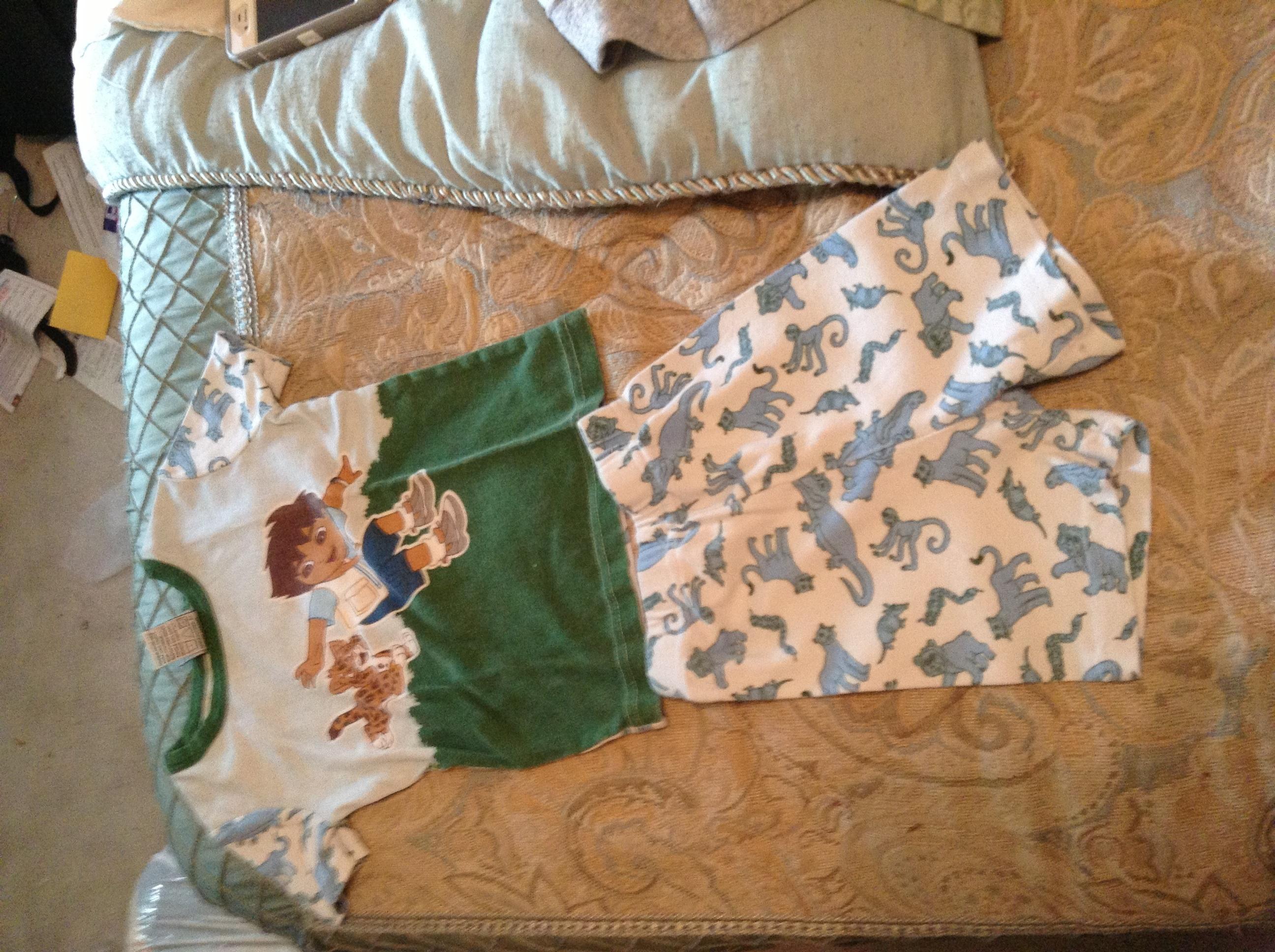 Size 4t Diego Pajamas Shorth Short Sleeve In Jennifers
