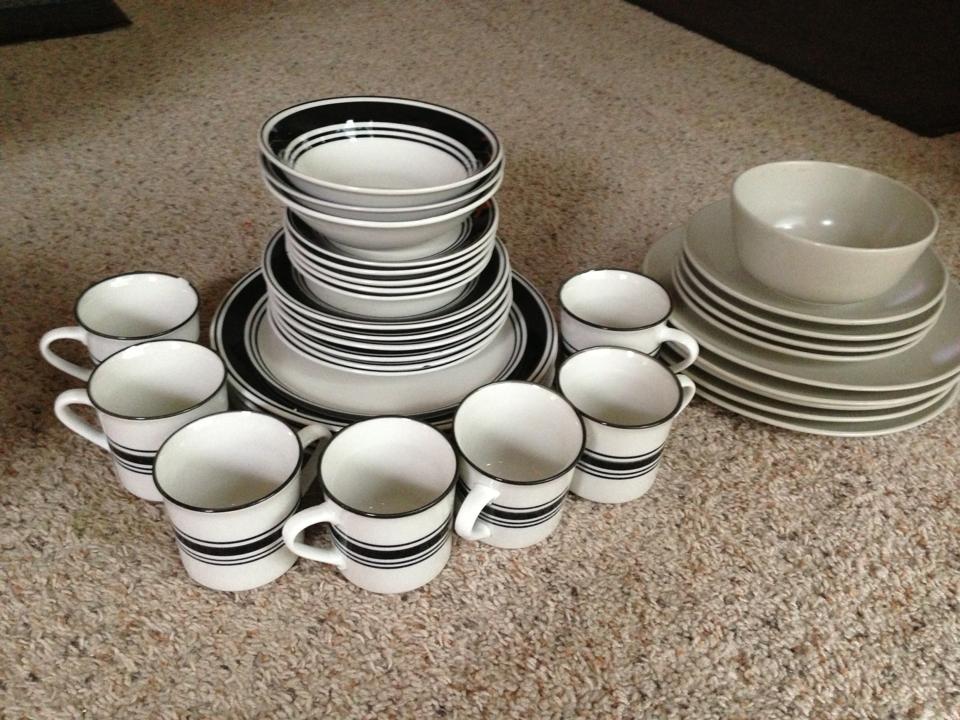 Partial Dinnerware Set