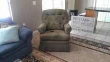 Green lift chair recliner