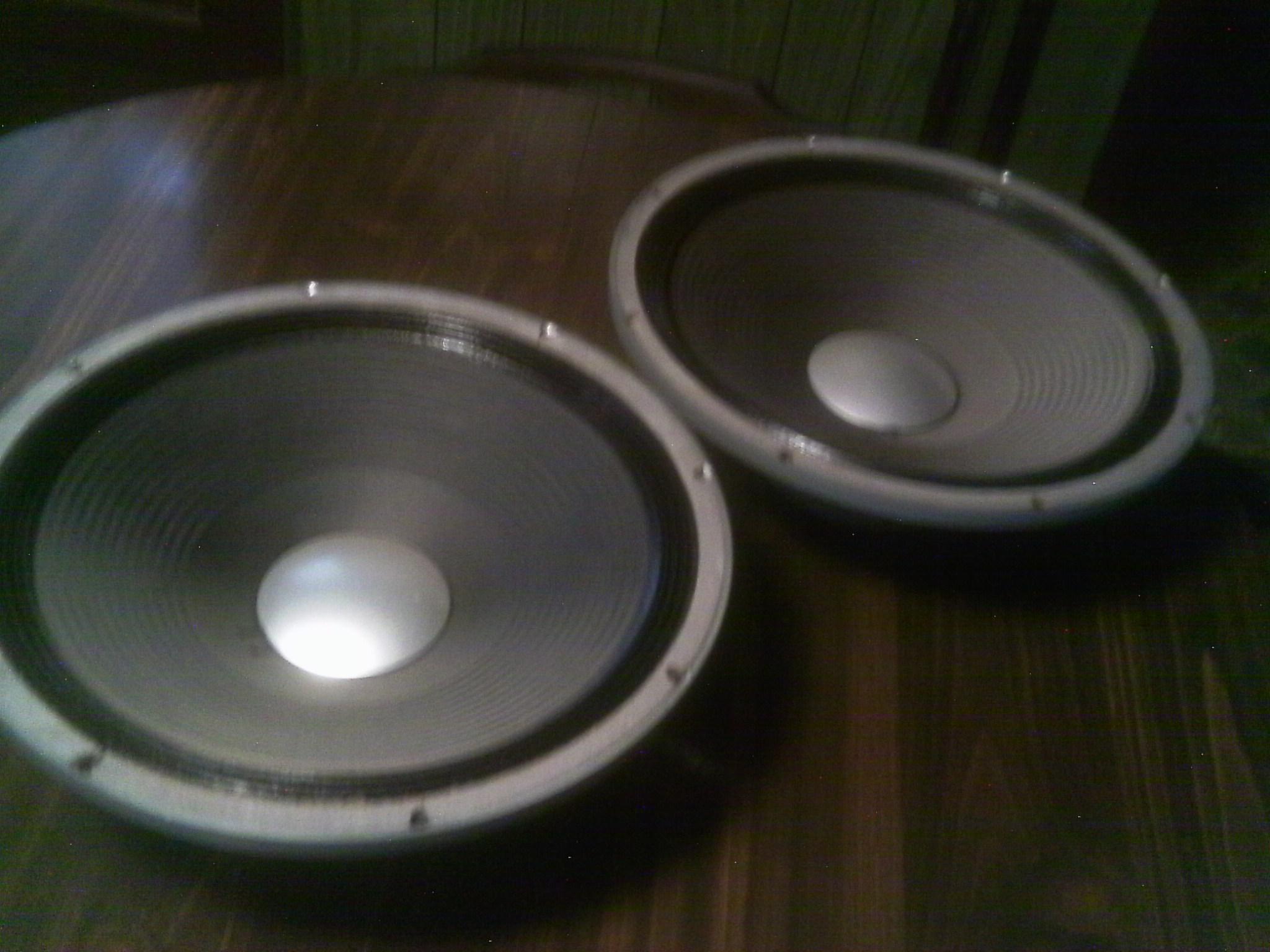 Pair of JBL D140 F Speakers