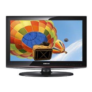"19\"" samsung lcd hdtv, black tv in oakland's yard sale"