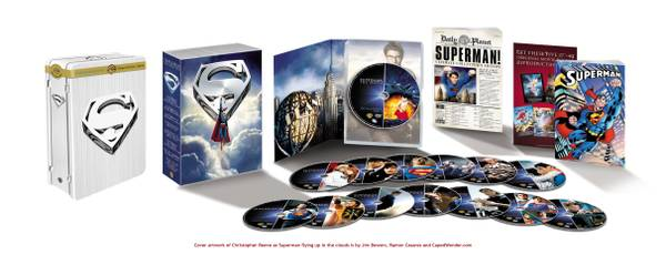 Superman Ultimate Collector\'s Edition DVD Sealed