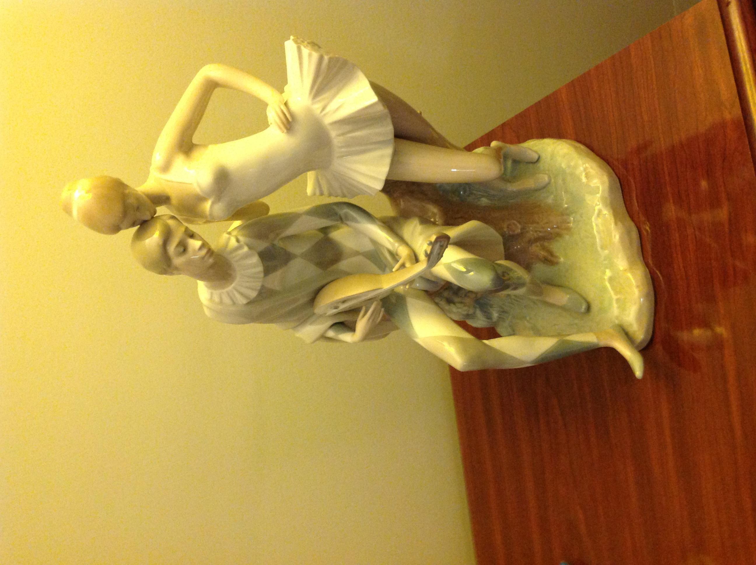 "Lladro porcelain \""Romance\"" figurine."
